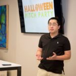 Chris Lin Pitch Party Competition Photo