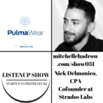 healthcare wearable technology strados labs nick delmonico listenup show 031 mitchell chadrow podcast